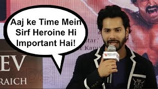 Varun Dhawan REACTION On Choosing A Heroine For His Next Film