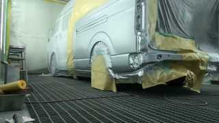 Toyota Hiace Painting