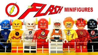 The Flash DC Superheroes CW TV series LEGO KnockOff Minifigures w/ Reverse-Flash Set 2