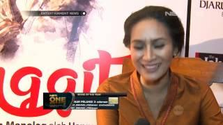 Happy Salma Pementasan Monolog Ibu Inggit