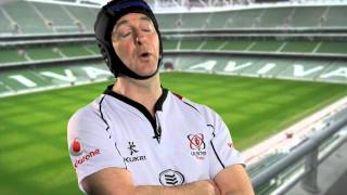 Ulster Fan Gives Opinion on Irish Rugby Team - Spoof