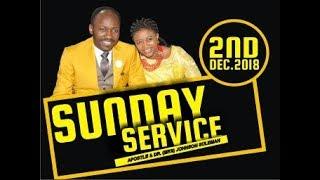 LIVE Sun. Service, 2nd Dec. 2018, with Apostle Johnson Suleman