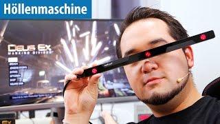 Zielen mit den Augen - Eyetracker in Deus Ex ausprobiert - Höllenmaschine UVR | deutsch / german