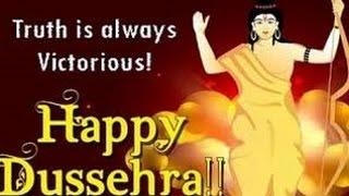 Happy Dussehra wishes 2016, Vijayadashami Greetings, Dussehra whatsapp Video, message 5