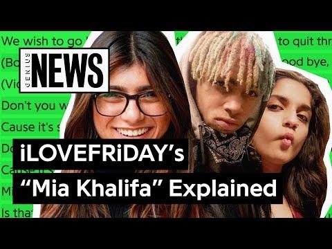 "Xxx Mp4 ILOVEFRiDAY's ""Mia Khalifa"" Explained Song Stories 3gp Sex"