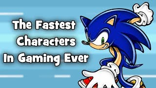 The Fastest Characters In Gaming Ever