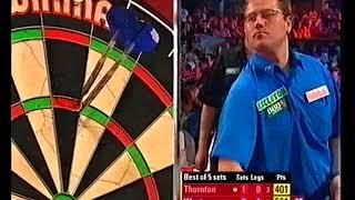 Thornton vs West Darts World Championship 2005 Round 2