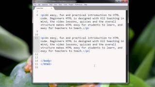 Ch2 lesson 3 - HTML tag basics: part 2