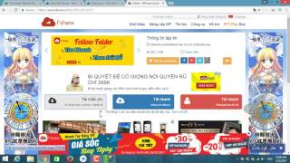 Hướng dẫn download fshare, 4share cực nhanh ( không cần Acc Vip và mạng nhanh) - Vv & Mm