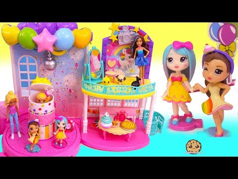 Birthday Party For Barbie s Little Sister Pop Teenies Surprise Presents
