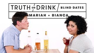 Blind Dates Play Truth or Drink (Mariah & Bianca)   Truth or Drink   Cut
