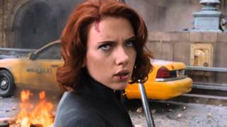 Scarlett Johansson (Black Widow) Full Fight Scenes