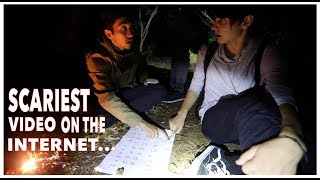 Ouija Board in Suicide Forest...| Aokigahara, Japan (scary)