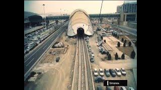 Iran 8th Metro line operating Tehran to Khomeini Airport راه اندازي خط هشت متروي تهران فرودگاه خميني