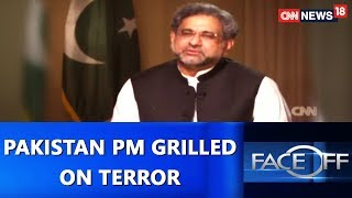 Pakistan PM Grilled on Terror | Face Off@9 With Zakka Jacob | CNN-News18