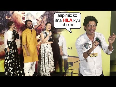Xxx Mp4 Sunil Grover S FUNNIEST Moment Trolling Reporter At Pataka Trailer Launch 3gp Sex