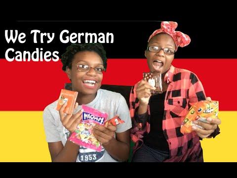 We Try German Candies|| Tori &