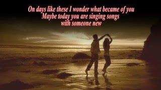 ON DAYS LIKE THESE (With Lyrics)  -  Matt Monro