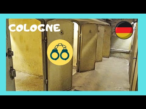 The Gestapo and Nazi torturing and killing building Cologne Germany