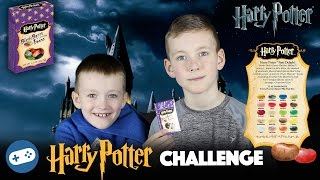 Harry Potter Bean Boozled Challenge! Gross Bertie Bott's Every Flavor Beans