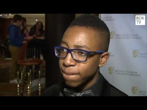 Khalil Madovi Interview BAFTA Children's Awards 2012
