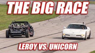 THE BIG RACE! (Leroy vs. Unicorn)