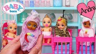 Andre abre Baby Born Surprise de unicornio   Jugando con juguetes para niñas y niños y muñecas bebes