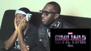 Captain America: Civil War - Team Cap/Team Iron Man TV Spot Reaction