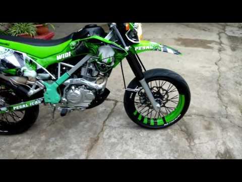 KLX 150 G modif supermoto #part1