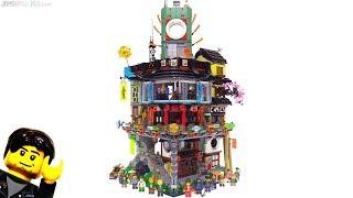 LEGO Ninjago City set full tour & review! 70620
