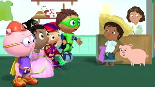 Super WHY! Full Episodes English ✳️ Juan Bobo and the Pig✳️  S01E40(HD)