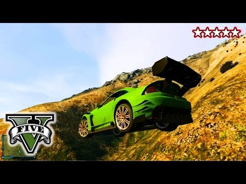 GTA 5 CUSTOMIZING CARs GTA Stants & Jumps Grand Theft Auto 5 Goofing Around