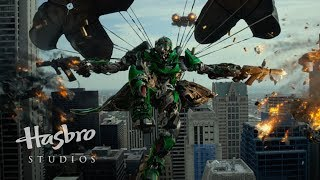 Transformers: Age of Extinction Official Super Bowl Spot (2014) - Dinobots!