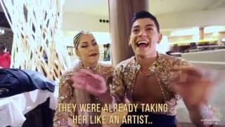 Karen y Ricardo de tras de cámaras parte 2 -Aventura Dance Cruise-Worlds largest Latin Dance Cruise