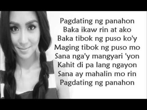 Pagdating ng panahon lyrics only one