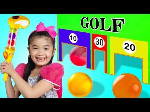 Xxx Mp4 Hana Pretend Play W Junior MINI GOLF Play Set Toy Game For Kids 3gp Sex