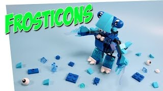 Lego Mixels Series 2 Blue Frosticons Slumbo Lunk & Flurr Opening