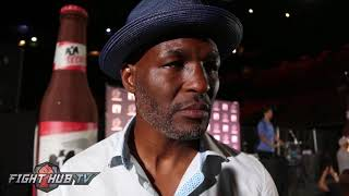 Bernard Hopkins reacts to Mayweather vs McGregor Press Conferences
