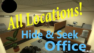 CS:GO Hide & Seek Office All Locations, Secrets, and Teleports