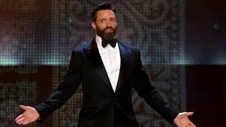Hugh Jackman HOPS Through Tony Awards 2014 Opening