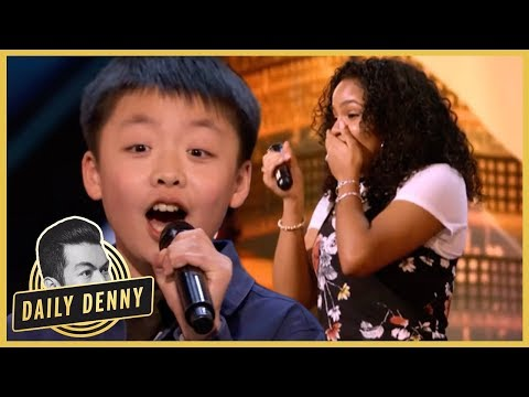 Xxx Mp4 AGT Simon Cowell Vows To Buy 13 Year Old Singer A Dog Mel B Hits Golden Buzzer Daily Denny 3gp Sex