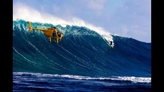 Laird Hamilton Tow in Jaws