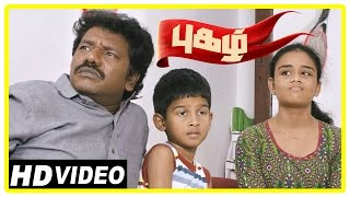 Pugazh Tamil Movie | Scenes | Jai Fights with Marimuthu | Corporation Election | Surabhi