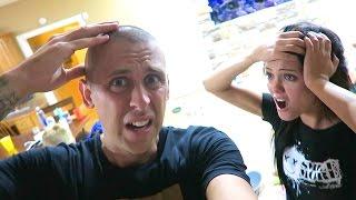 NOOOO!! ALL MY HAIR IS GONE!!