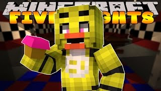 Minecraft - FIVE NIGHTS AT FREDDYS - THE FIRST SCARE #2 (Custom Roleplay)