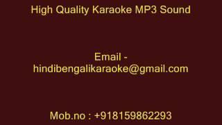Bhalobasar Augun Jele - Karaoke - Lata Mangeshkar - Ki Likhi Tomai Priyotoma