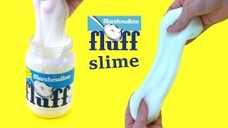 Comment faire du fluff slime - Fluff slime recipe - tuto slime - Gloopy Slime