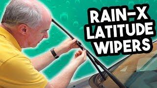 Rain-X Latitude Wiper Blades Review in 4k   EpicReviewGuys CC