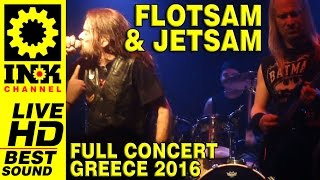 FLOTSAM & JETSAM - Full concert - Greece2016