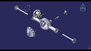 Differential Catia Fitting Simulation - ROUGH